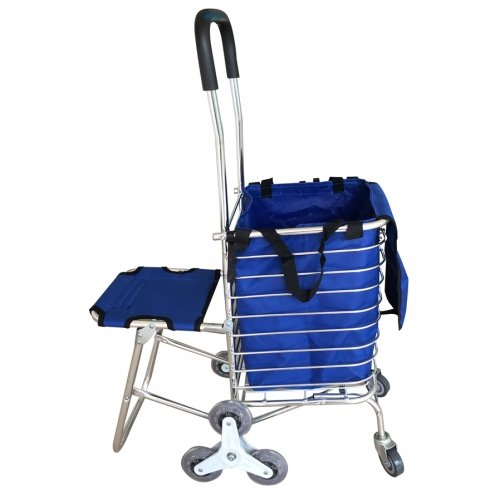 Advindeq Basket Folding Shopping Cart TL-90CN