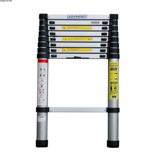 Advindeq Aluminum Telescoping Ladder ADT208B