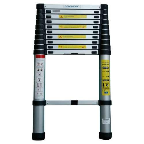 Advindeq Aluminum Telescoping Ladder ADT210B