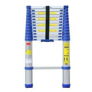Advindeq Aluminum Telescoping Ladder ADT212B-Blue