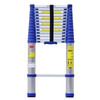 Advindeq Aluminum Telescoping Ladder ADT214B-Blue