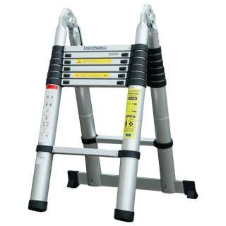 Advindeq Aluminum A-type Multi-Purpose Telescoping Ladder ADT706B