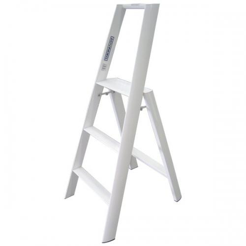 Advindeq Step Stool - AV303, 3- step (White)