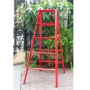Advindeq A-type Step Ladder - AV305, 10 steps (Red)