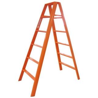 Advindeq A-type Step Ladder - AV-306, 12 steps (Orange)