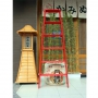 Advindeq A-type Step Ladder - AV-306, 12 steps (Red)