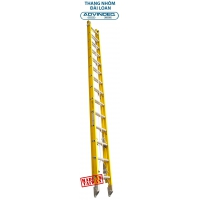 Advindeq Telescopic Fiberglass Insulation Ladder FX-28