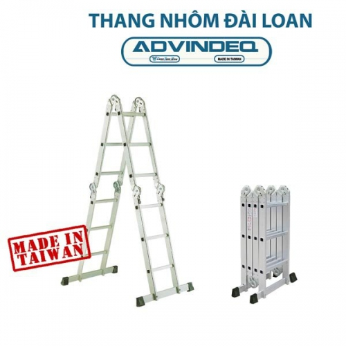 Advindeq Two-section Ladder Locked Auto T6–125