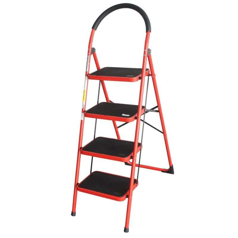 Remarkable Advindeq Step Stool Ads104 4 Step Red Uwap Interior Chair Design Uwaporg