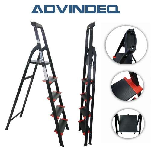 Advindeq Step Ladder with Large Platform AV205, 5-steps