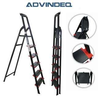 Advindeq Step Ladder with Large Platform AV206, 6-steps