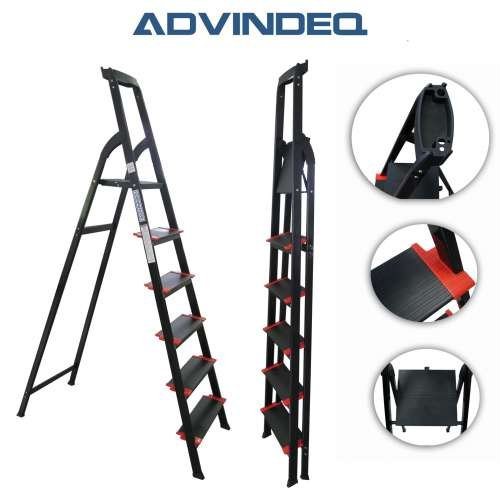 Advindeq Step Ladder with Large Platform AV206, 6-steps